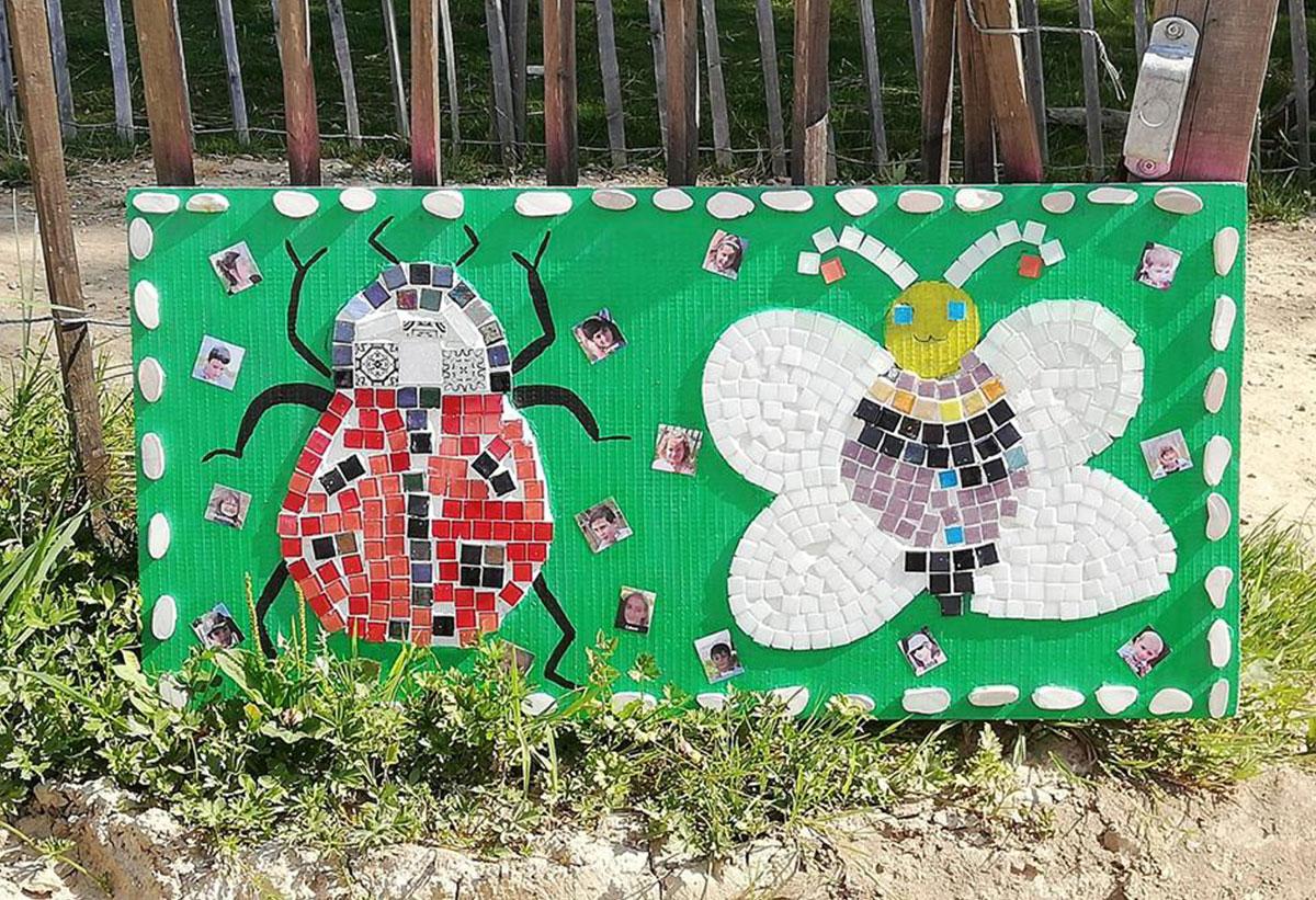 Coccinelles extra et abeilles ordinaires au Domaine d'Ecoline